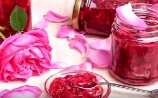 Варенье из лепестков роз рецепт