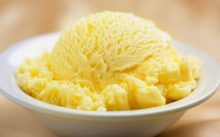 Лимонное мороженное