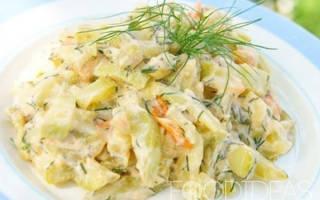 Как вкусно потушить кабачки с овощами на сковороде: рецепт с фото