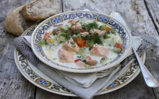 Норвежский суп рецепт