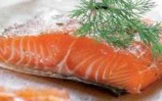 Соленый лосось
