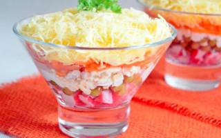Салат «Нежный» с крабовым мясом рецепт